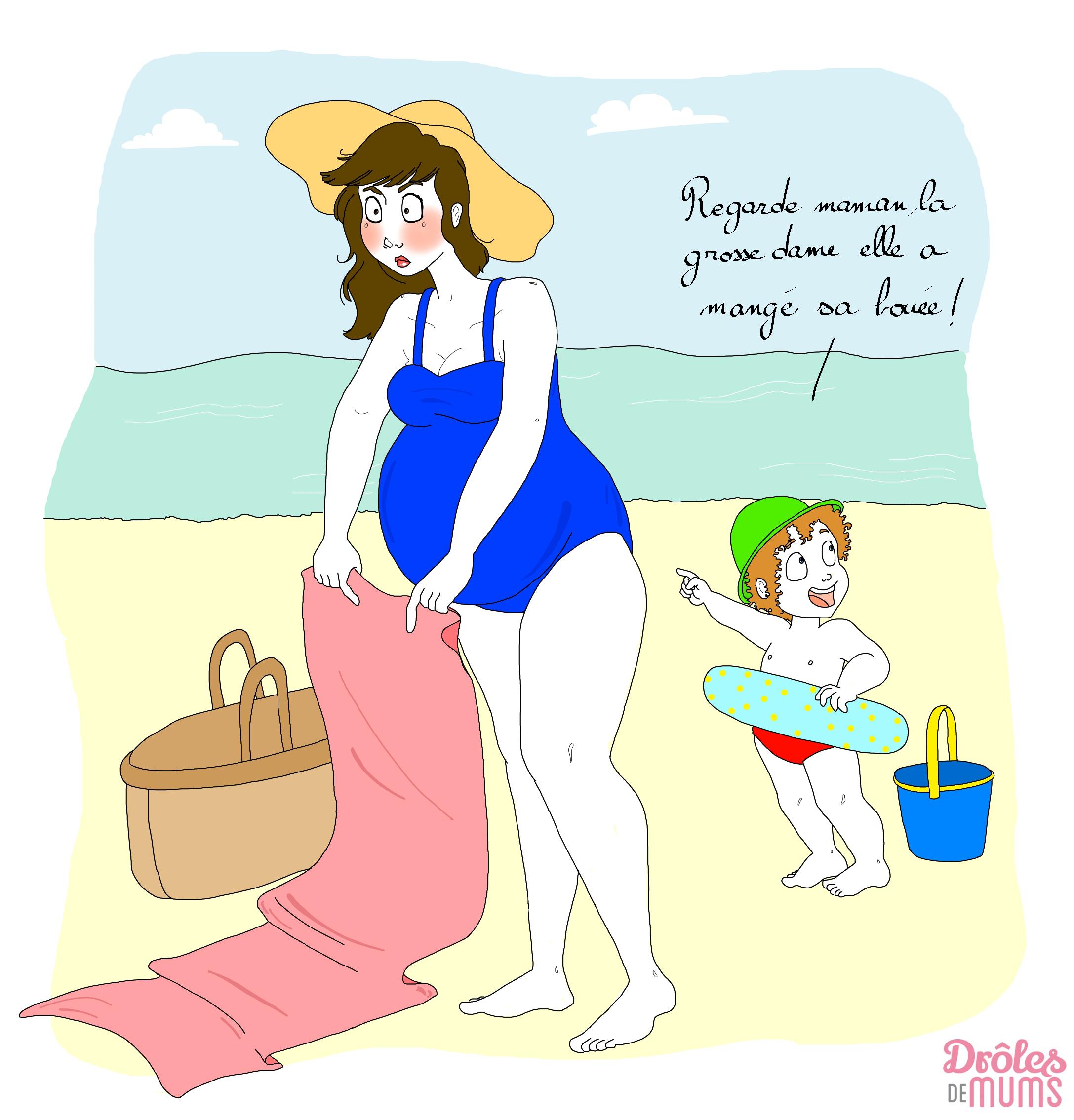 Papier peint photo drôle de grossesse  grossesse • PIXERS