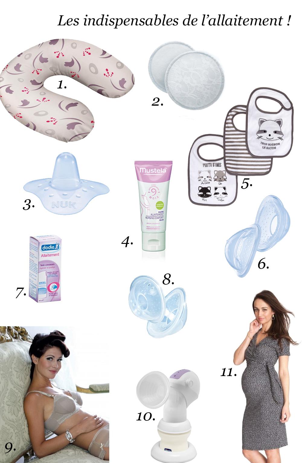 les essentiels pour allaiter accessoires allaitement. Black Bedroom Furniture Sets. Home Design Ideas