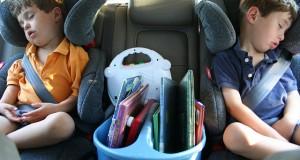 voyager en voiture avec les enfants