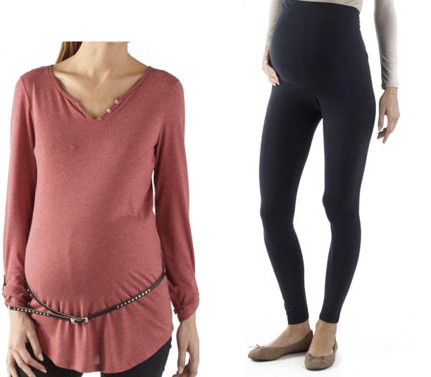 styles frais plutôt cool en ligne à la vente look-maternite-camaieu-3 - Drôles de mums