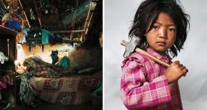 Indira, 7 ans, Katmandou, Nepal