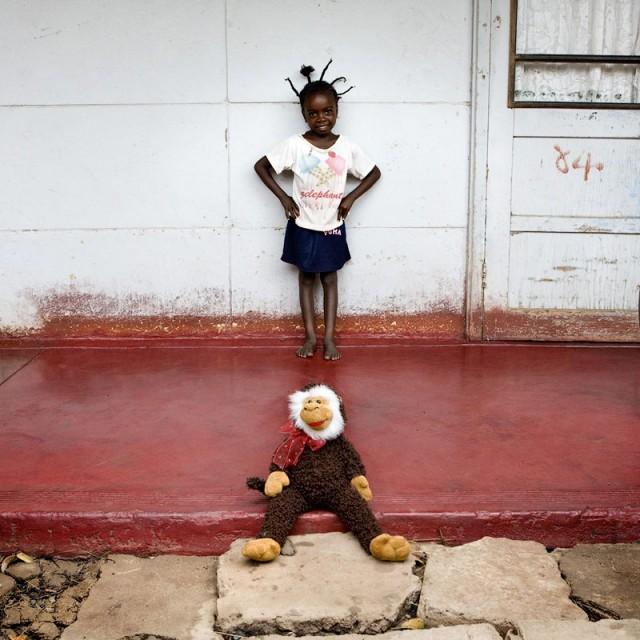 Enfant du Botswana