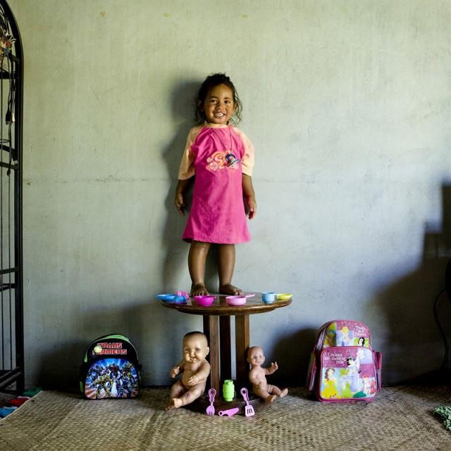 Enfant des Iles Fidji