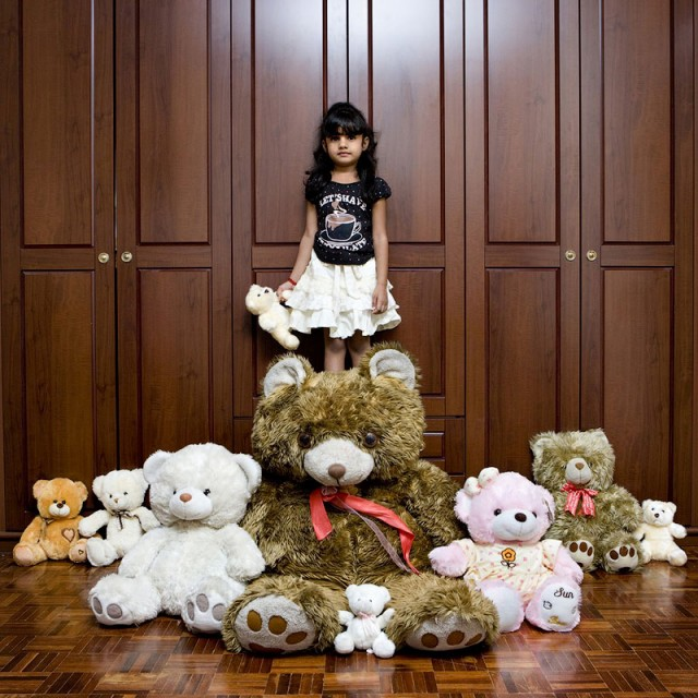 Enfant de Sepang en Malaisie