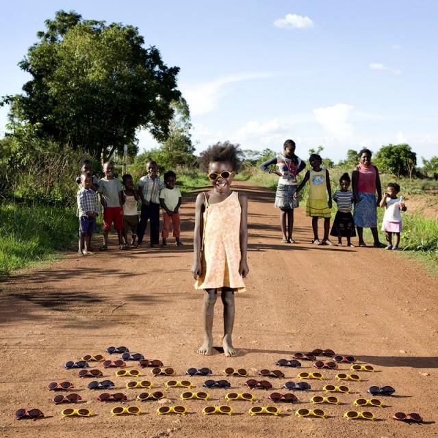 Enfant en Zambie