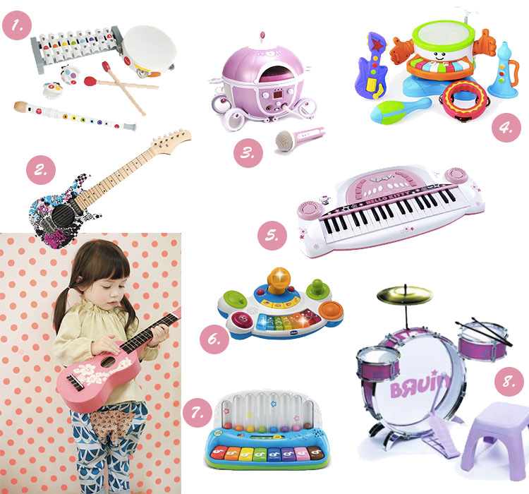 jouets de no l pour les musiciens en herbe dr les de mums. Black Bedroom Furniture Sets. Home Design Ideas