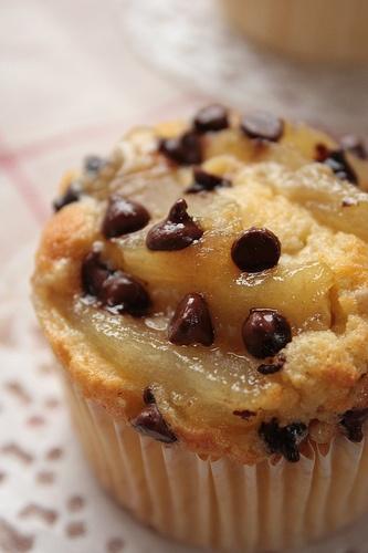 muffin-poires-chocolat-amandes