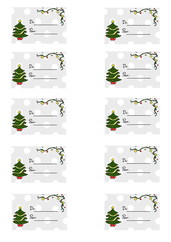 Oh Des Belles Etiquettes A Imprimer Pour Mes Cadeaux