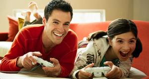 père et fille jeux video