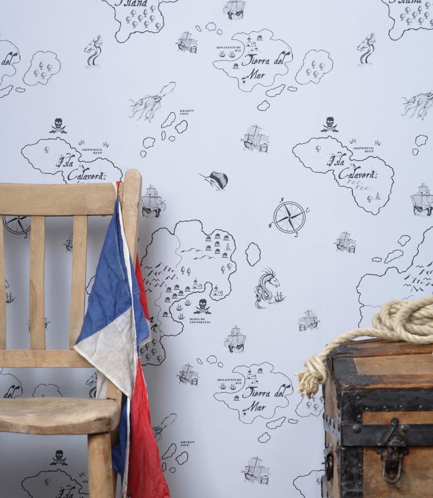 hibou-home_pirate-seas-wallpaper_gull-grey_a