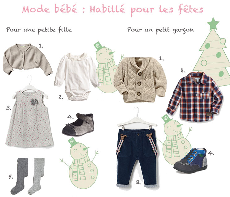 06bad51a81ad1 Mode bébé   habillé pour les fêtes de Noël