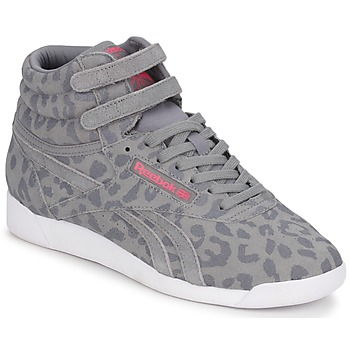 Baskets freestyle Eden gris/leopard Reebok - 79,99 €