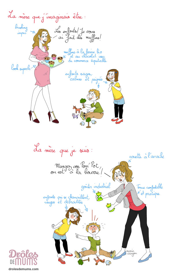 10 trucs qui prouvent que je ne suis pas une maman parfaite - Ma mere veut que je couche avec elle ...