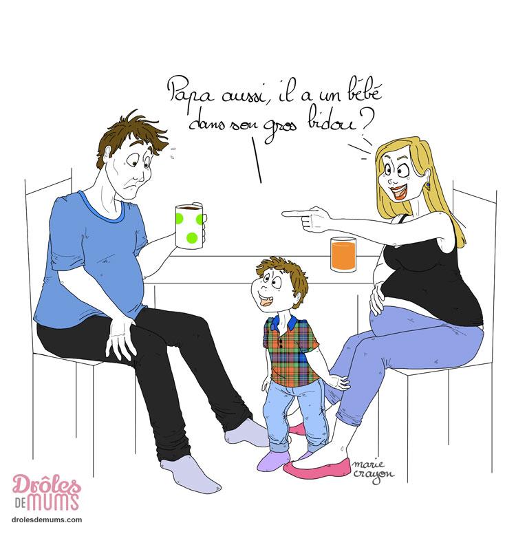 le futur papa ne ferait il pas une petite couvade dr les de mums. Black Bedroom Furniture Sets. Home Design Ideas