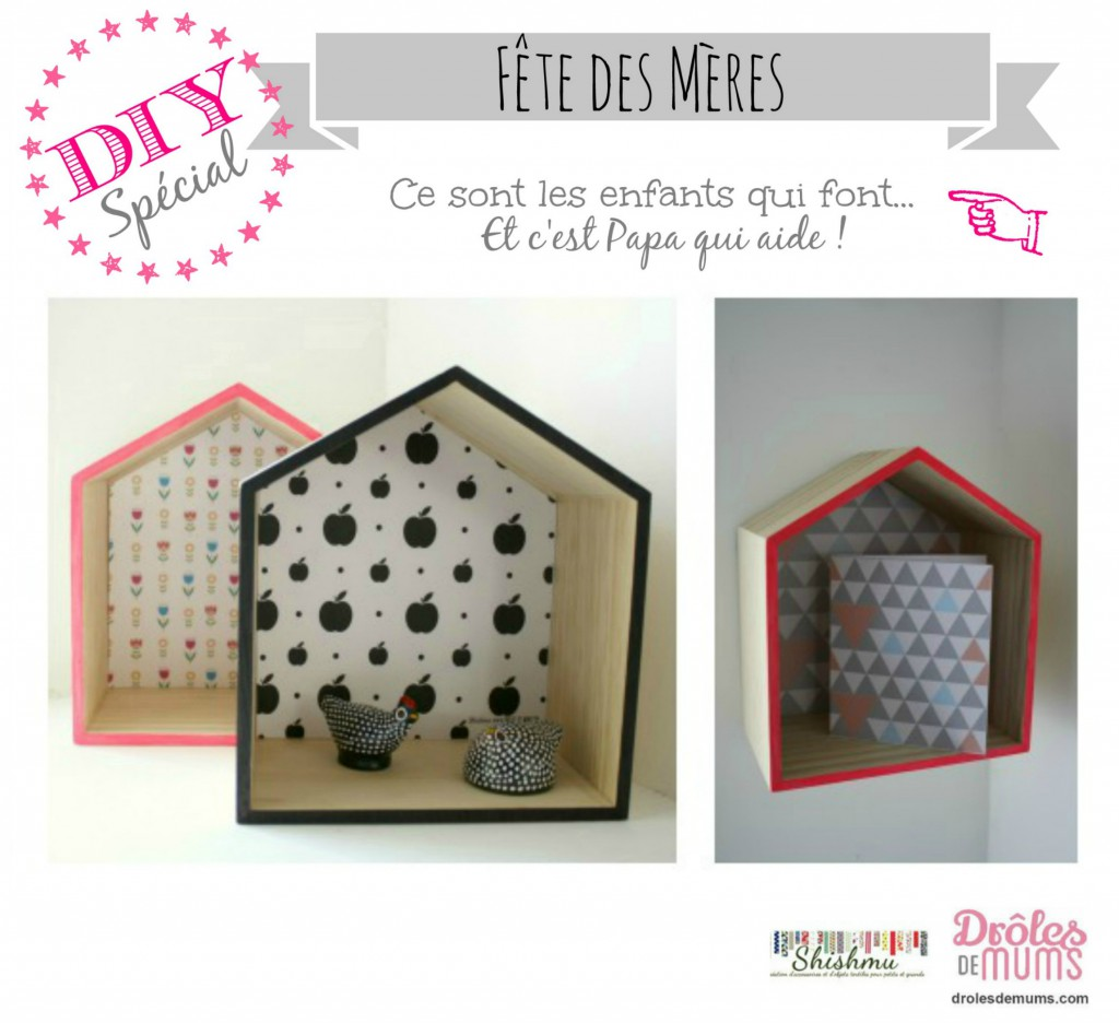 diy faire avec papa pour la f te des m res. Black Bedroom Furniture Sets. Home Design Ideas