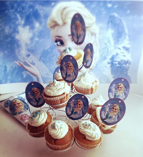 gteau anniversaire de princesse thme reine des neiges