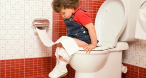 Potty training.