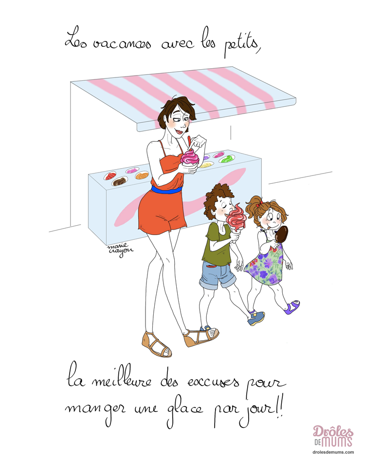 5 Trucs Au Top Que Je Peux Faire Avec Mes Enfants En Vacances Droles De Mums