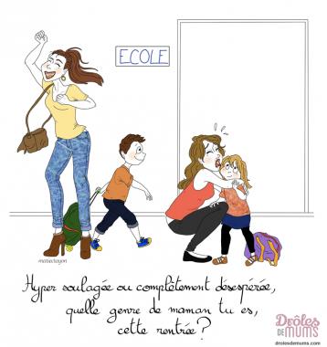 Rentree des classes dr les de mums - La rentree des mamans ...