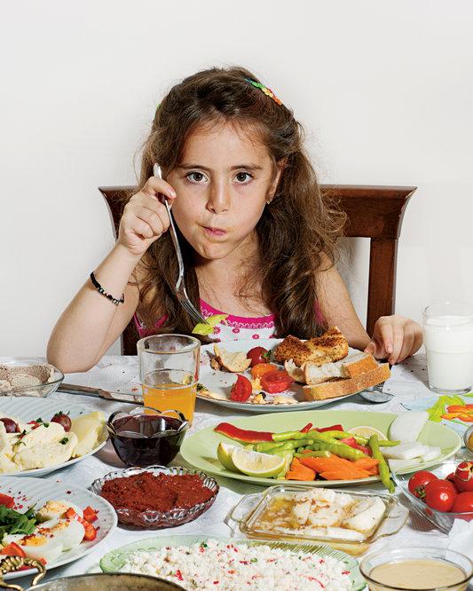 Le petit déjeuner des enfants à travers le monde