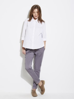 Pantalon toile esprit chino entrej. 78 cm de grossesse Colline pour Vertbaudet, 20,97 €
