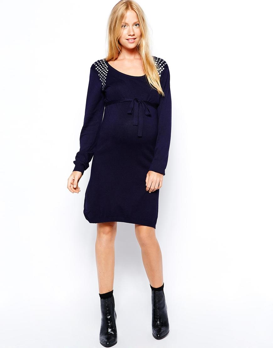 Mode grossesse une robe pull sinon rien dr les de mums - Enceinte avant retour de couche symptomes ...