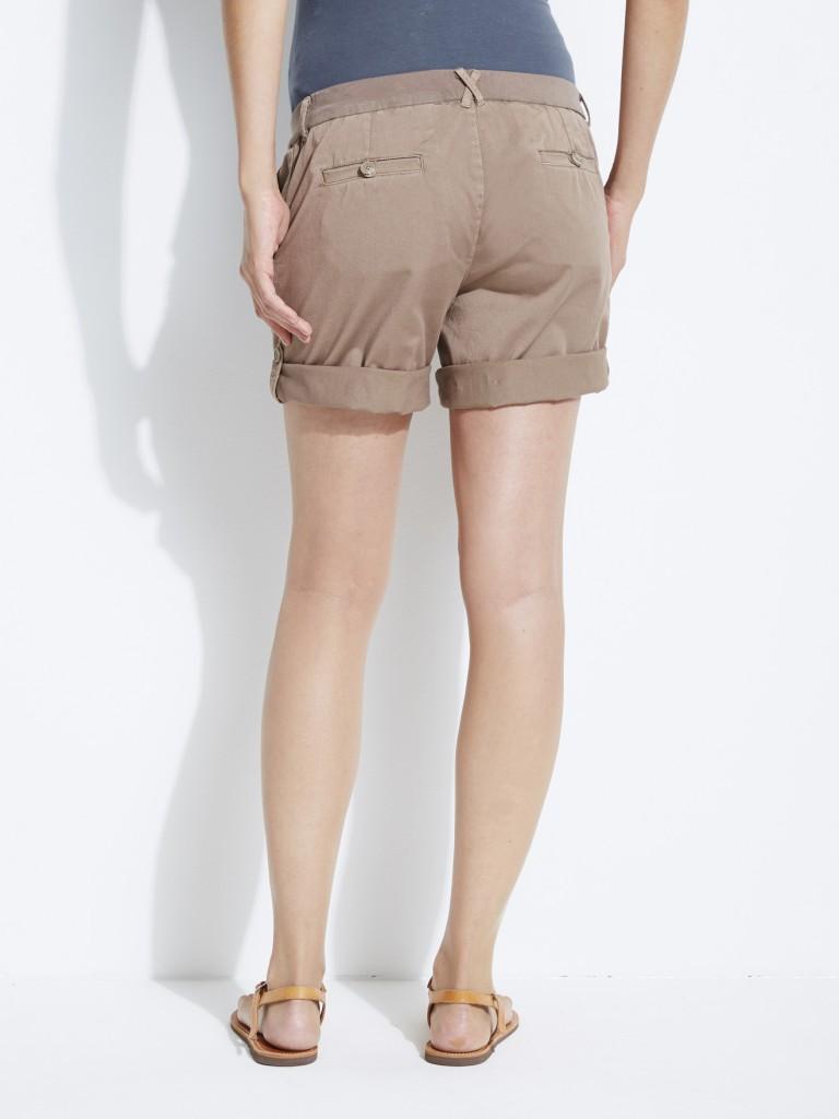 Short en coton stretch de grossesse Colline pour Vertbaudet, 19,96 €
