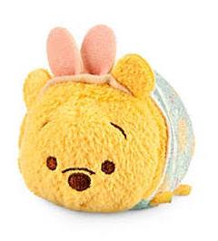 Mini peluche Tsum Tsum de Pâques Winnie l'Ourson, 5 €