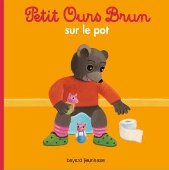 Petit ours brun sur le pot aux Editions Bayard