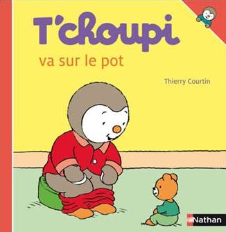 Tchoupi va sur le pot aux Editions Nathan