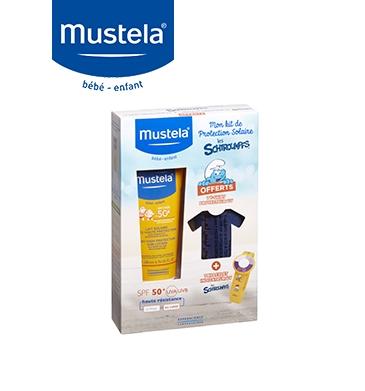 Kit de Protection Solaire Les Schtroumpfs™ Mustela - 19,90 €