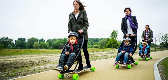 Comment faire du skate sans l cher la poussette - Comment faire du skateboard ...