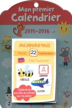 Mon premier calendrier aux éditions Gründ - 9,95 €