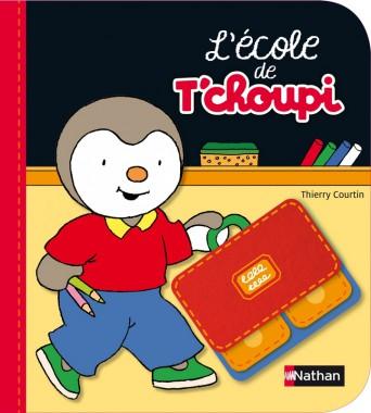 L'école de Tchoupi aux éditions Nathan - 14,90 €