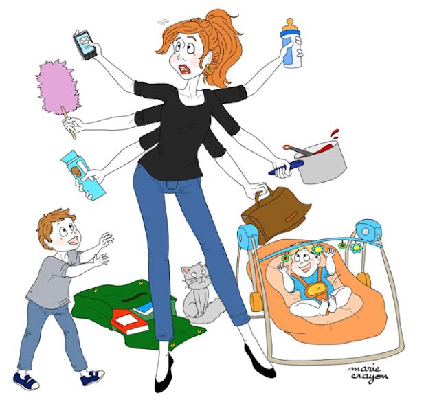 Une journ e dans la vie d 39 une maman a ressemble quoi for Se mettre a son compte mais dans quoi