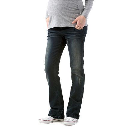 Jeans bootcut de grossesse effet used - Prémaman pour Orchestra - 19,98 € avec la carte Orchestra