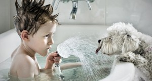 bain enfant