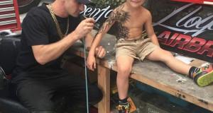 tatouages enfants malades