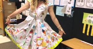 robe dessin 3