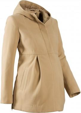 Manteau de grossesse avec capuche, ajustable Bonprix - 49,99 €