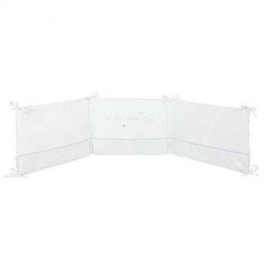 comment bien utiliser le tour de lit de b b dr les de mums. Black Bedroom Furniture Sets. Home Design Ideas