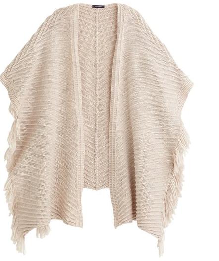 Cape en tricot Femme Promod - 31,46 €