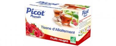 Tisane d'Allaitement Fruits rouges Picot - environ 4 € les 20 sachets