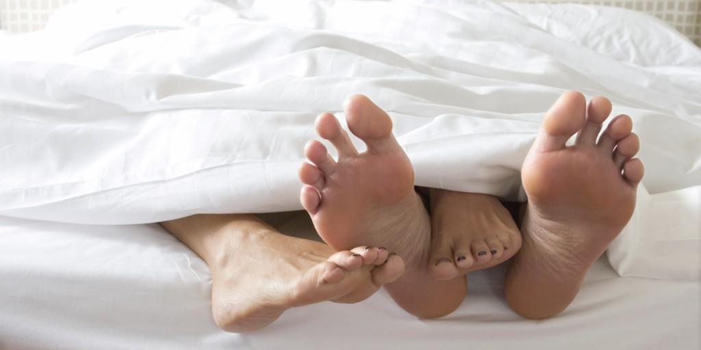 Lover's feet