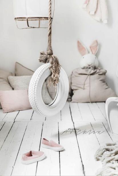 4 id es originales pour d corer la chambre de votre enfant for Balancoire pour chambre