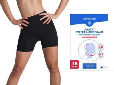 Shorty Expert Amincissant Cellublue - 34,99 €